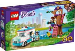 lego 41445 dyrlegens sykebil