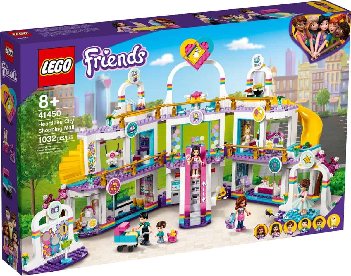 lego 41450 heartlake citys kjopesenter