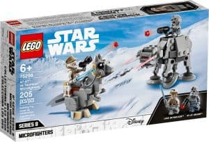 lego 75298 at at mot tauntaun microfightere