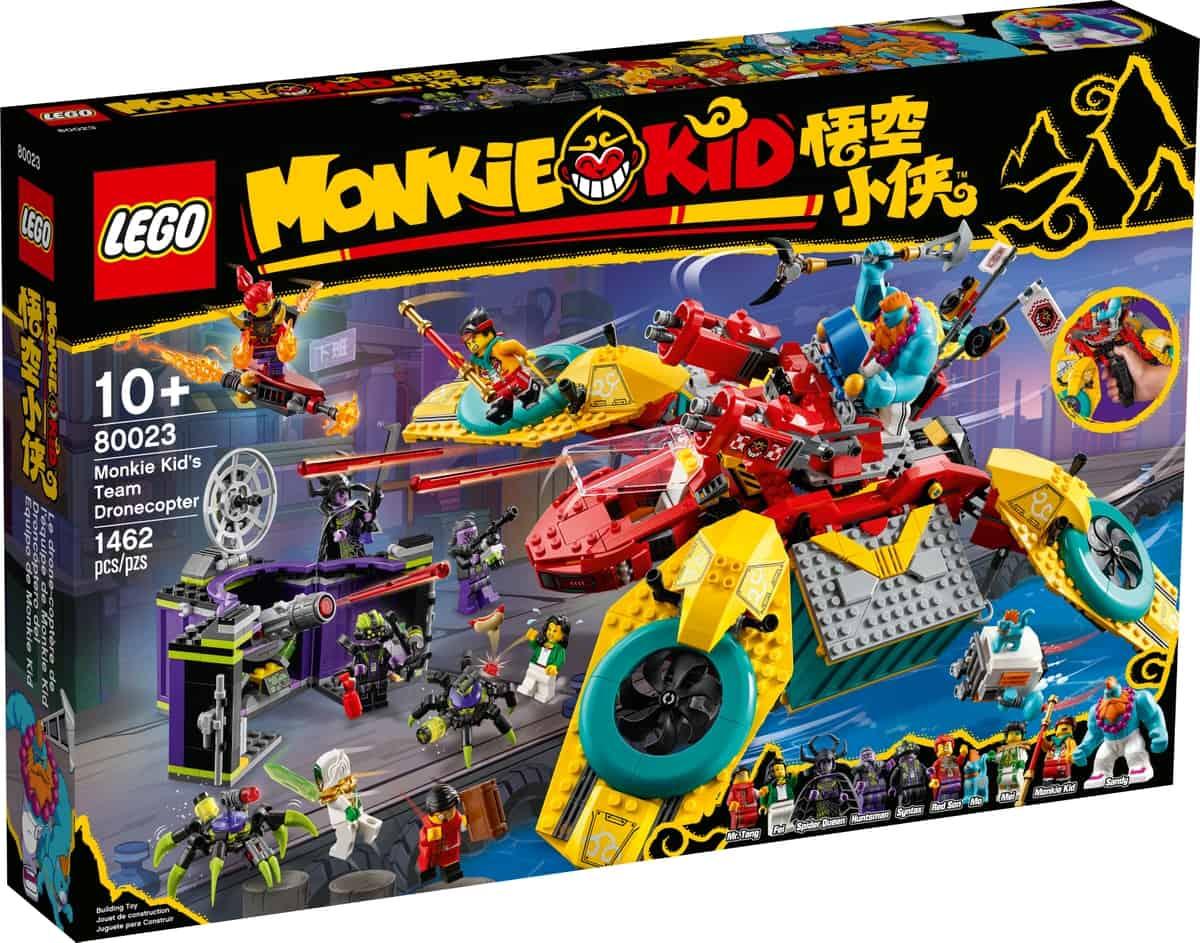 lego 80023 monkie kid teamets dronekopter