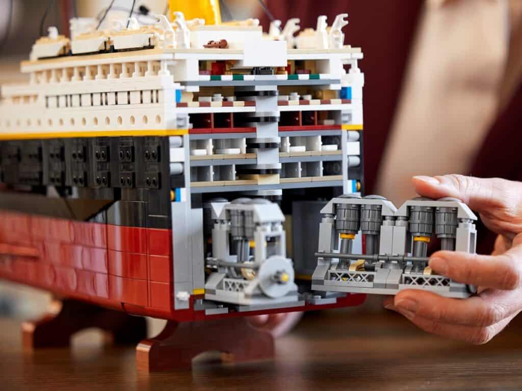 LEGO Titanic 10294 - Detail 2