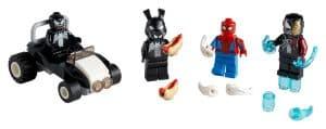 lego 40454 spider man mot venom og iron venom