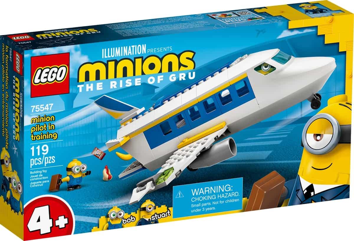 lego 75547 minionpilot under opplaering