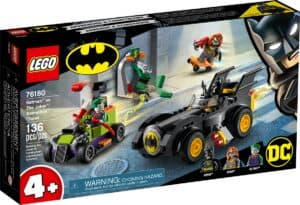 lego 76180 batman mot the joker batmobile jakt