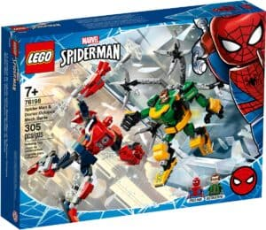 lego 76198 spider man og doctor octopus i robotkamp
