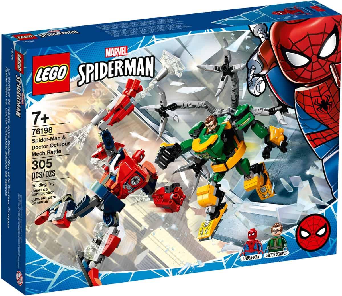 lego 76198 spider man og doctor octopus i robotkamp