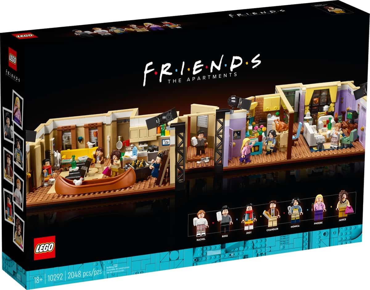lego 10292 leilighetene i friends serien