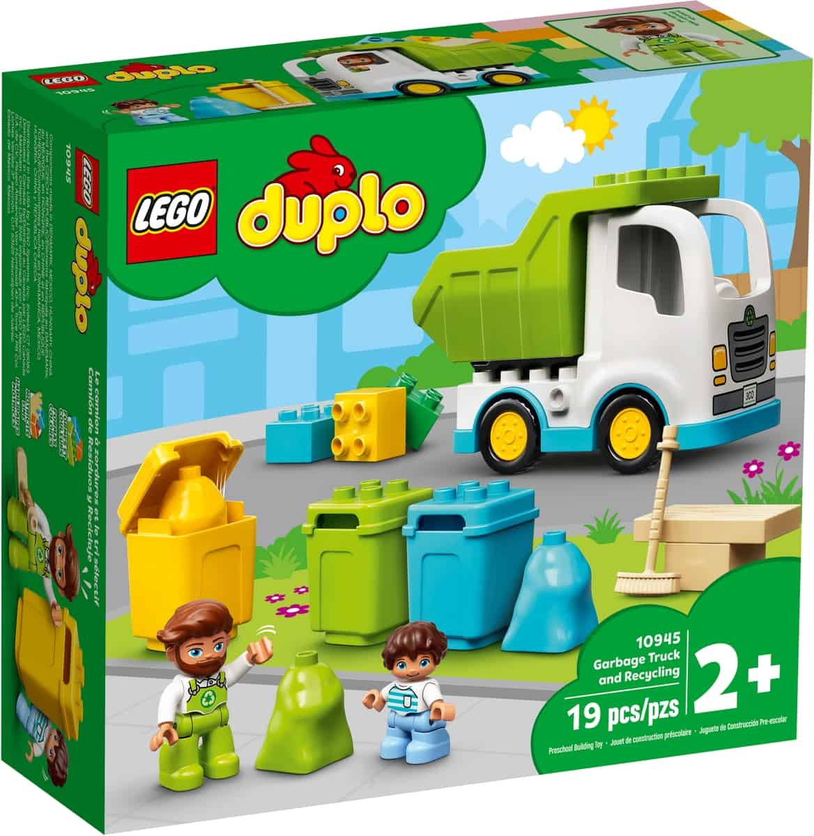 lego 10945 soppelbil og avfallsortering