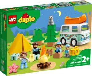 lego 10946 familie med campingbil