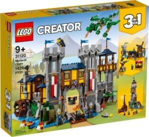 lego 31120 middelalderslott