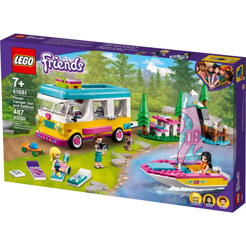 LEGO 41681 Forest Camper Van and Sailboat - 20210502