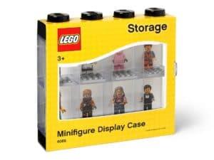 lego 5006152 svart utstillingsmonter for atte minifigurer