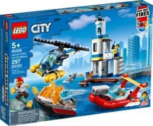 lego 60308 politiets og brannvesenets sjoredningstjeneste
