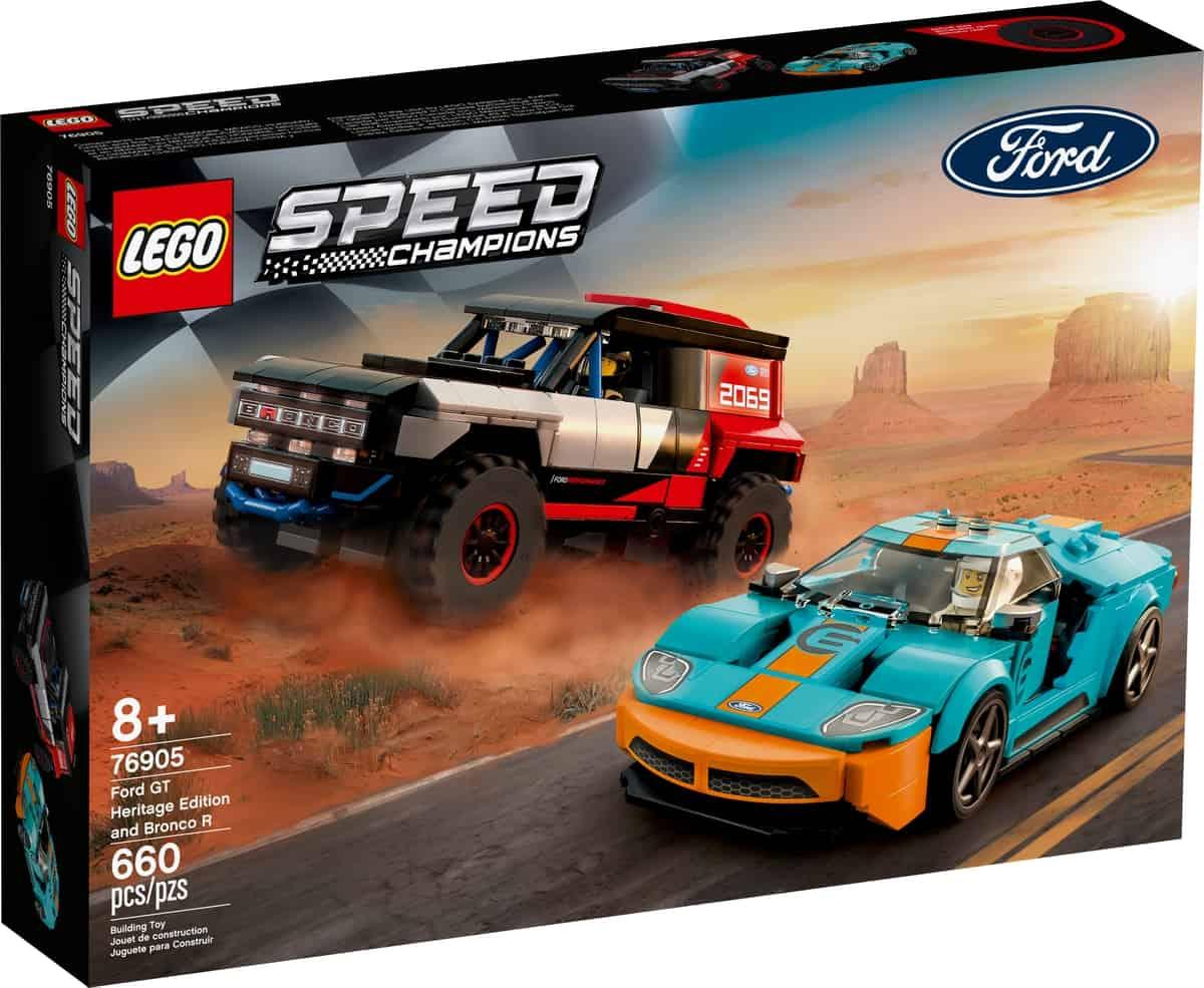lego 76905 ford gt heritage edition og bronco r