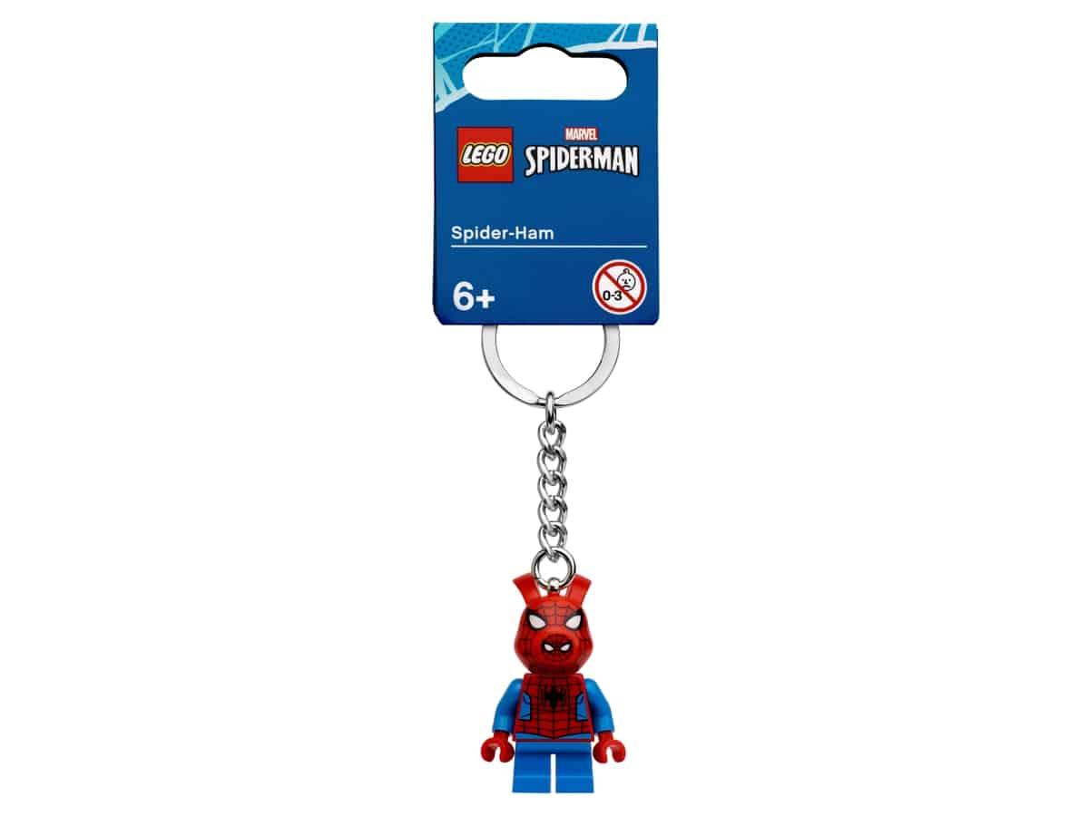 lego 854077 nokkelring med spider ham