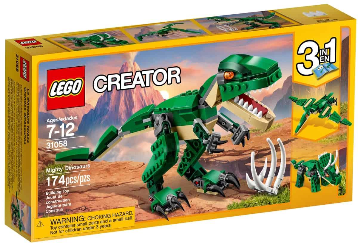 lego 31058 gronn dinosaur