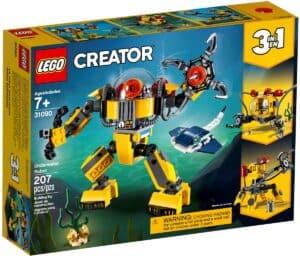 lego 31090 undervannsrobot