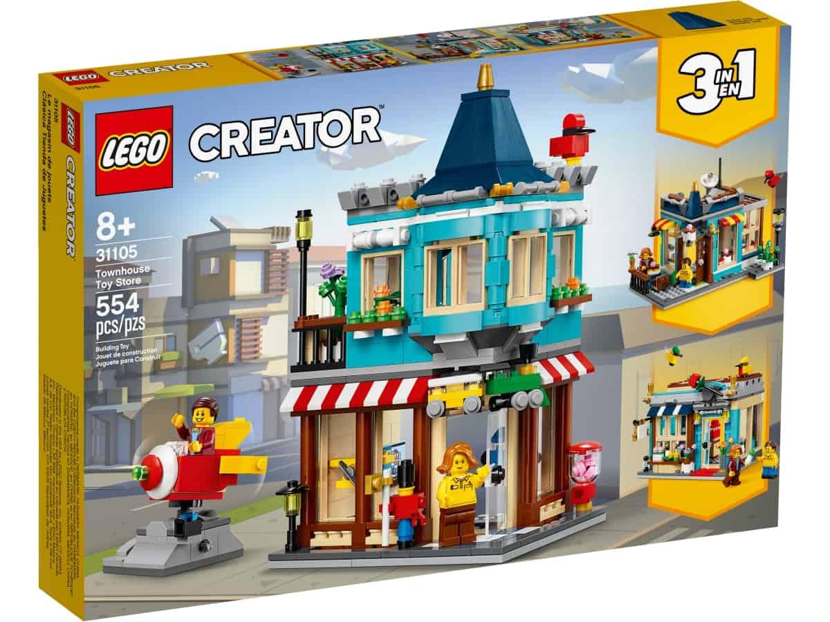 lego 31105 lekebutikk pa hjornet