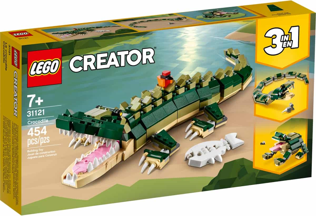 lego 31121 krokodille
