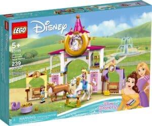 lego 43195 belle og rapunsels prinsessestall