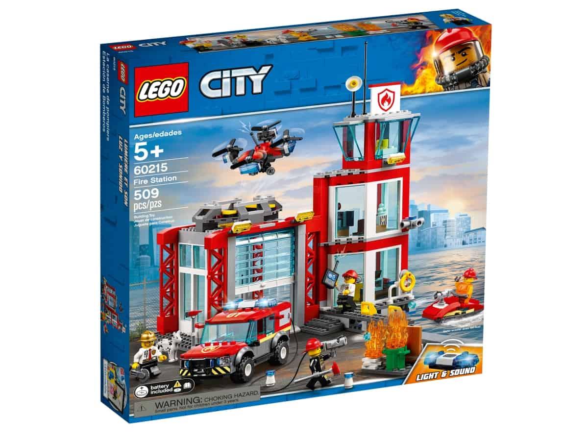 lego 60215 brannstasjon