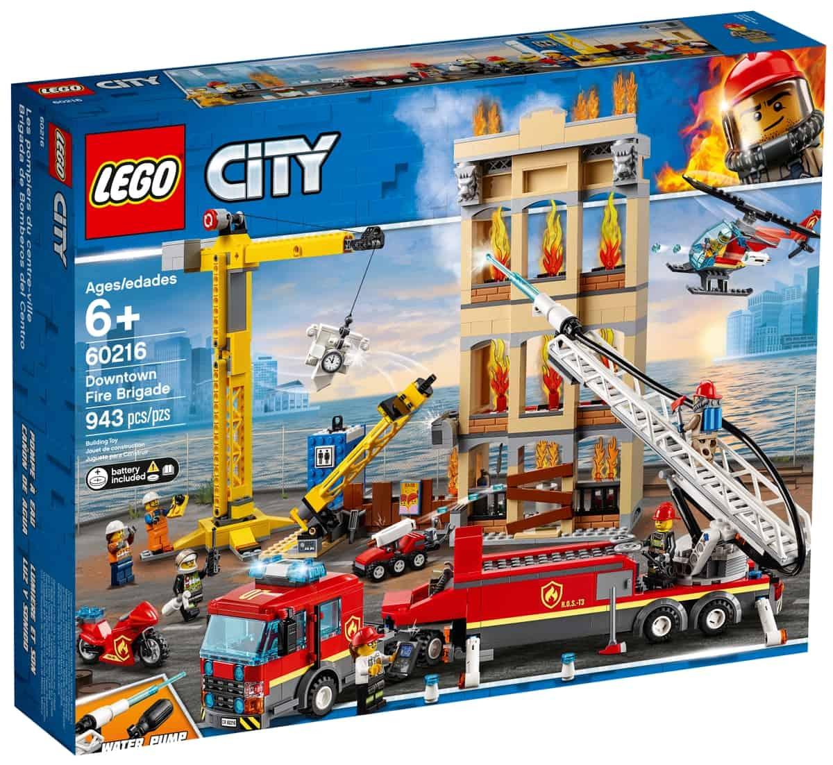 lego 60216 brannvesenet i aksjon