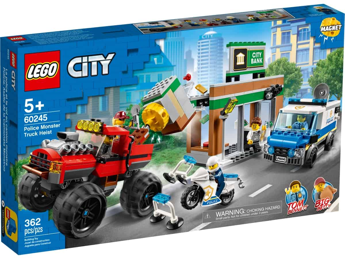 lego 60245 bankran med monstertruck