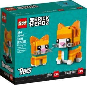 lego 40480 oransjestripet katt