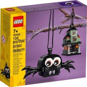 lego 40493 sett med hjemsokt hus og edderkopp