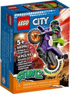 lego 60296 stuntmotorsykkel som steiler