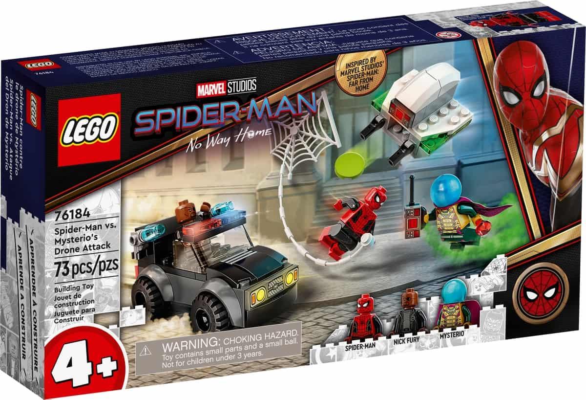 lego 76184 spider man og mysterios droneangrep