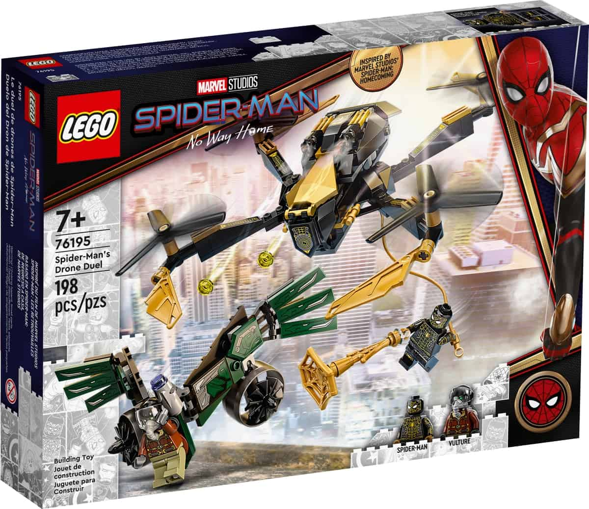 lego 76195 spider mans droneduell