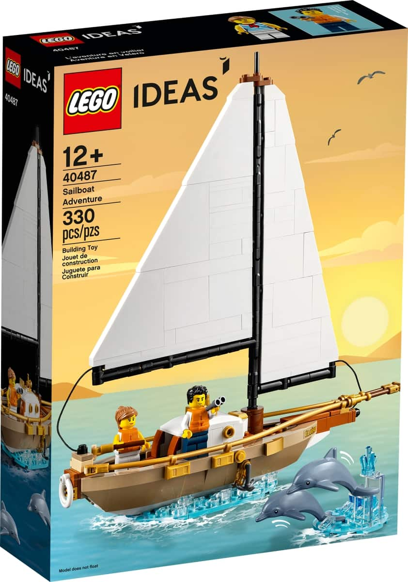 lego 40487 pa eventyr med seilskute
