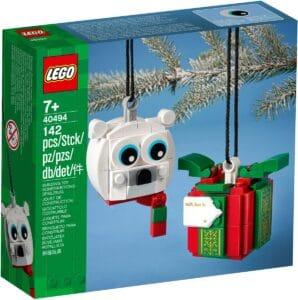 lego 40494 sett med isbjorn og gave