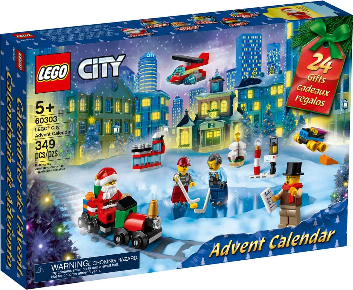 lego 60303 city julekalender