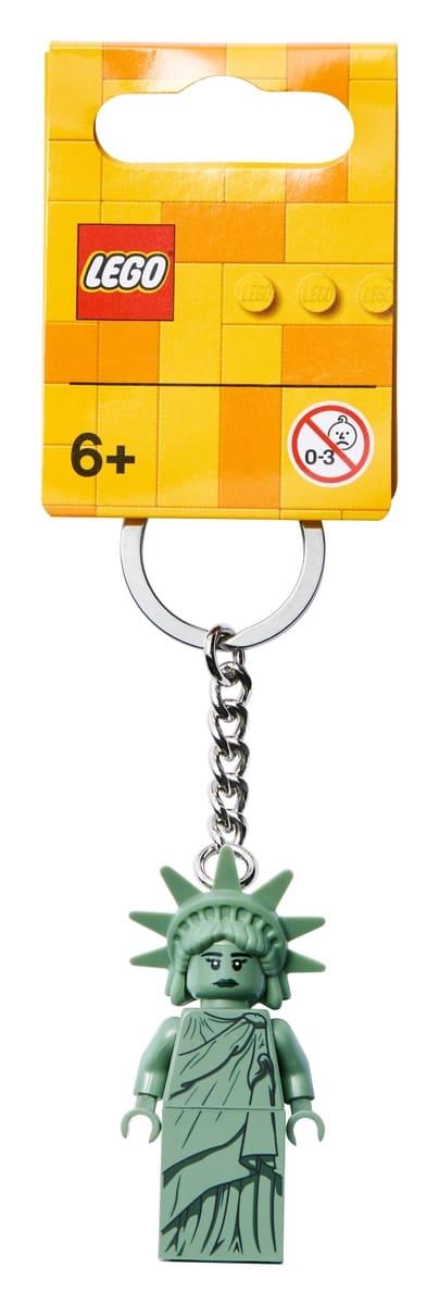 lego 854082 nokkelring med frihetsgudinnen