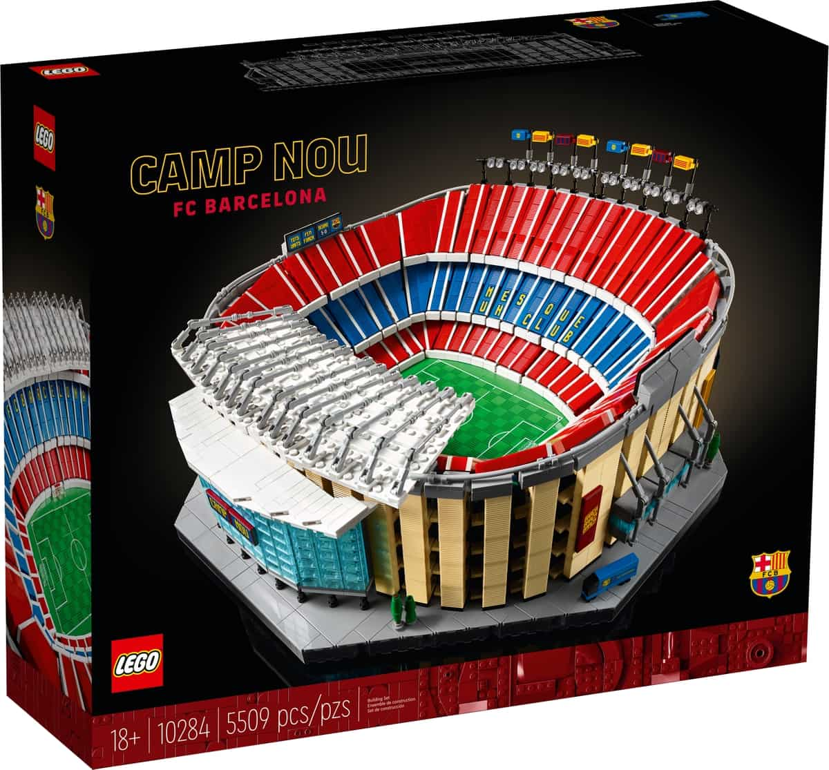 LEGO 10284 Camp Nou - FC Barcelona