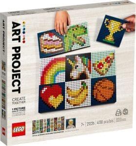lego 21226 kunstprosjekt lag ting sammen