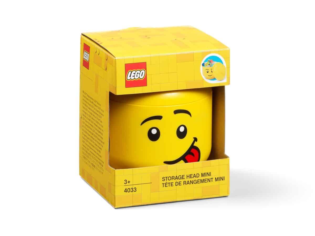 lego 5006210 oppbevaringshode liten strrelse tysete