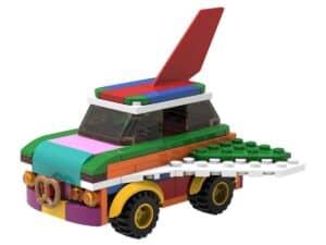 lego 5006890 ombyggbar flygende bil